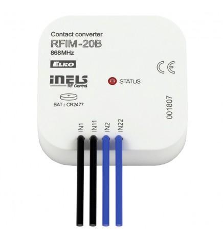 iNELS RF Convertitore Wireless 2 Contatti