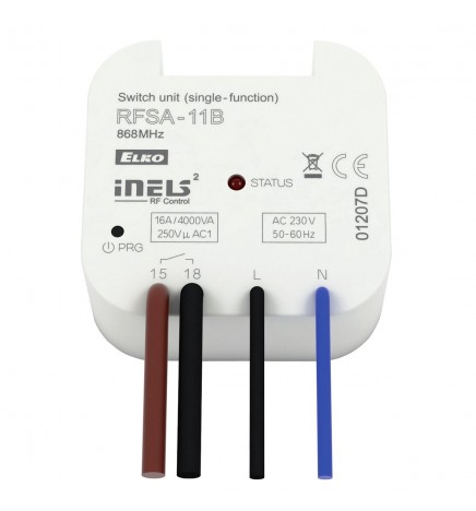 iNELS RF Unità Commutazione ON/OFF Wireless 16A