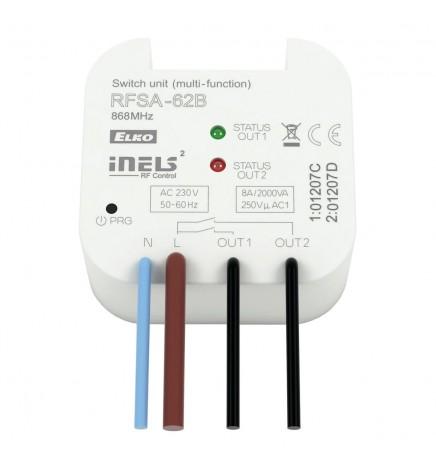 iNELS RF Unità Multifunzione Wireless 2CH 16A