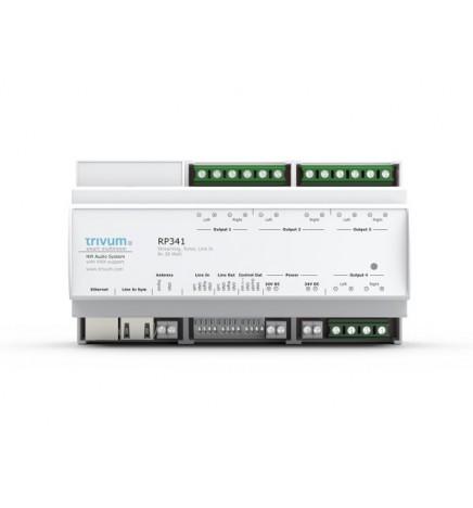 TRV-Sound System RP341 Amplifier Streamer FM Tuner 5 Rooms
