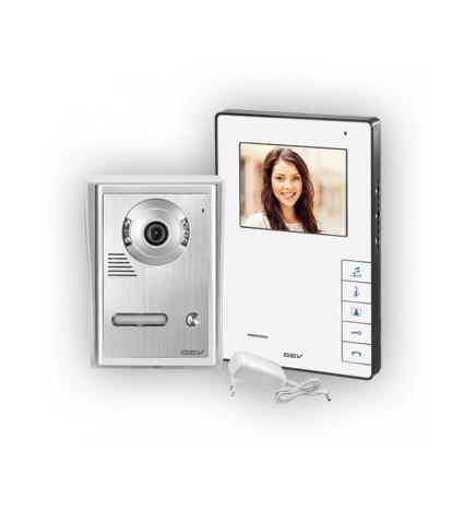 GEV® Kit Videocitofonico Monofamiliare