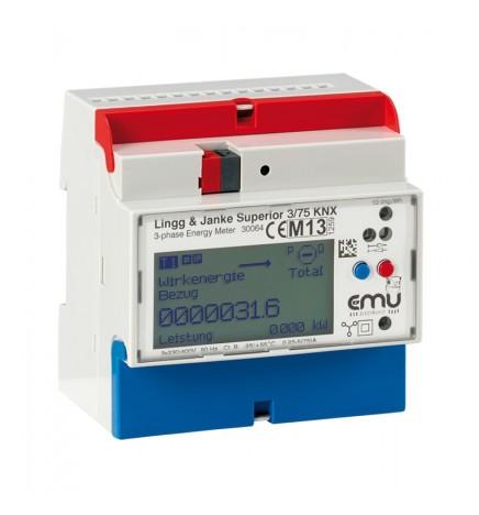 Lingg&Janke® Contatore di Energia elettrica trifase (5 DIN)