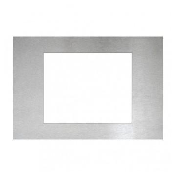 IPAS EIB / KNX Placca Touchscreen Control ETS6C Alluminio Inox
