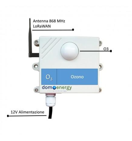 Sensore Ambientale LoRaWAN Ozono (O3)