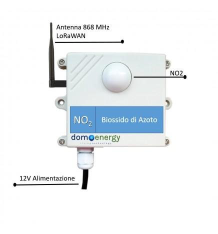 Sensore Ambientale LoRaWAN Biossido Azoto (NO2)
