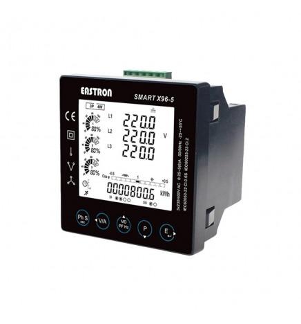 MID Smart Meter X96-5J Trifase Ethernet Gateway Modbus RTU & TCP