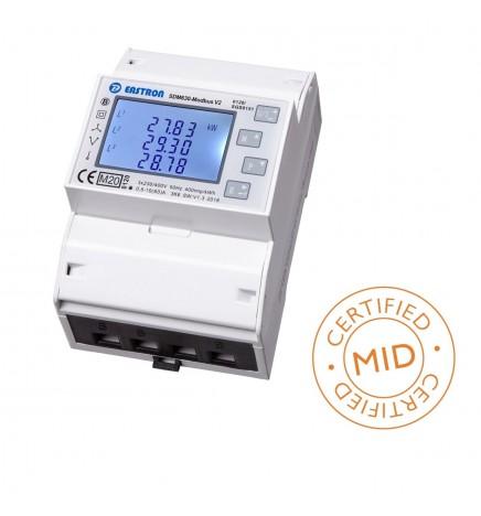 MID Smart Meter SDM630 Trifase Interfaccia Modbus RTU Max 100A Inserzione Diretta