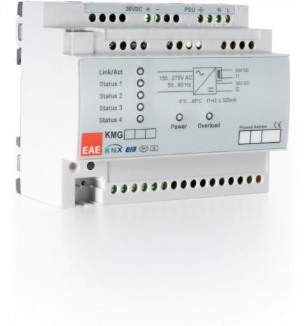 EAE KMG103 -640mA KNX / Modbus TCP/ IP Gateway Alimentatore Integrato