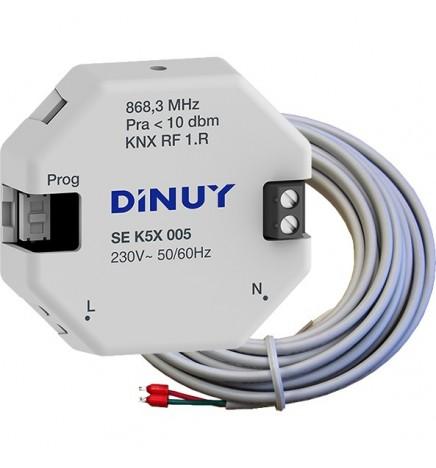 DINUY RF KNX SENSORE DI TEMPERATURA CON SONDA 230V