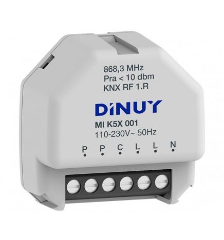 DINUY RF KNX ATTUATORE DI COMMUTAZIONE 1 CANALE 230V