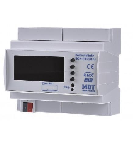 MDT EIB/KNX Interruttore Orario (6 DIN) SCN-RTC20.01