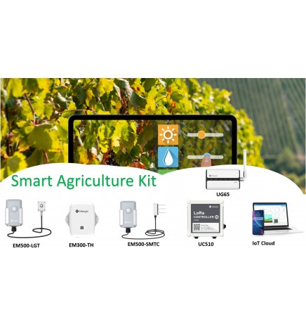 Starter Kit Agriculture Monitoring Cloud Free