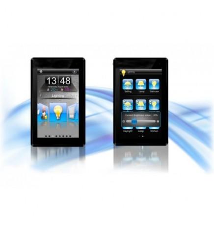 GVS EIB/KNX Pannello Touch 5'' argento CHTF-05/01.1.02