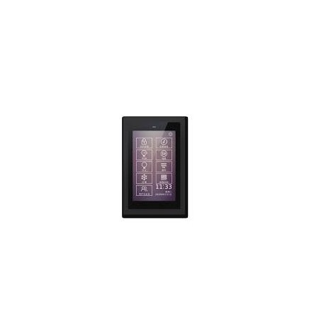 GVS EIB/KNX Touch Panel 5'' Black Frame CHTF-05/01.2.21