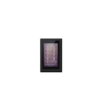 GVS EIB/KNX Touch Panel 5'' Slim Black Frame CHTF-05/01.3.21