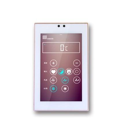 GVS EIB/KNX Touch Panel 5'' Slim Silver Frame CHTF-05/01.3.22