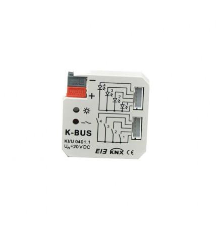 GVS EIB / KNX Universal Interface 4CH KI/U 04.01.1