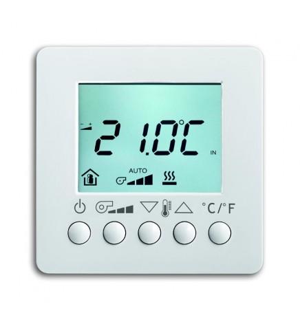 ABB EIB/KNX Termostato Fan Coil Display Bianco 6138/11-84-500