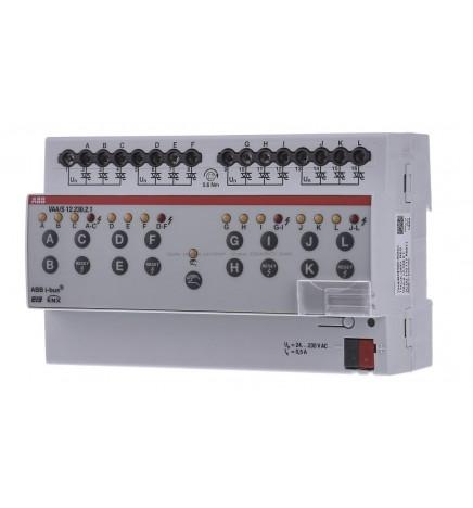 ABB EIB/KNX Attuatore Posizionatori Elettrotermici 12CH 230V (4 DIN) VAA/S12.230.2.1