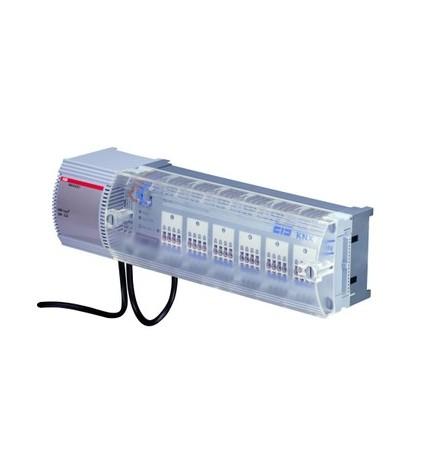 ABB EIB/KNX Attuatore Posizionatori Elettrotermici 24V ca (4 DIN) VAA/A6.24.1