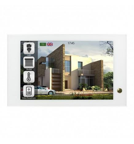BX EIB/KNX THEO10 Touch Panel HD Bianco BX-T10IPW_Wg